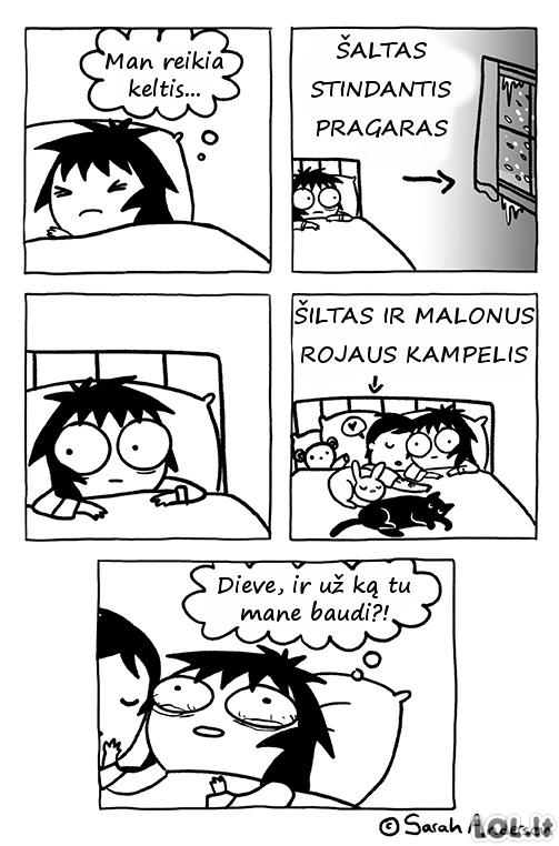 Kai reikia keltis anksti ryte