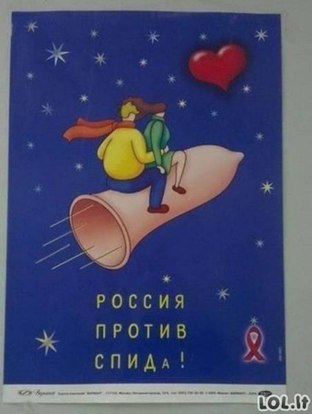 Tuo tarpu Rusijoje...