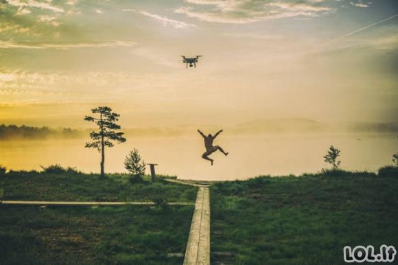 Įspūdingiausios dronais užfiksuotos nuotraukos