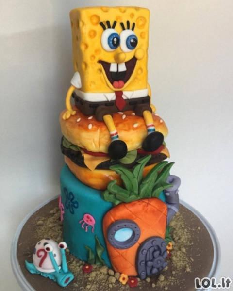 Tortai, kuriuos tiesiog gaila valgyti