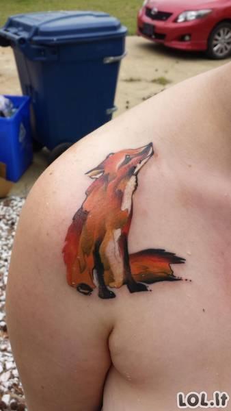 Nerealiausių tatuiruočių rinkinys [30 FOTO]