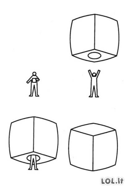 Nešiojamas namas tikriems intravertams