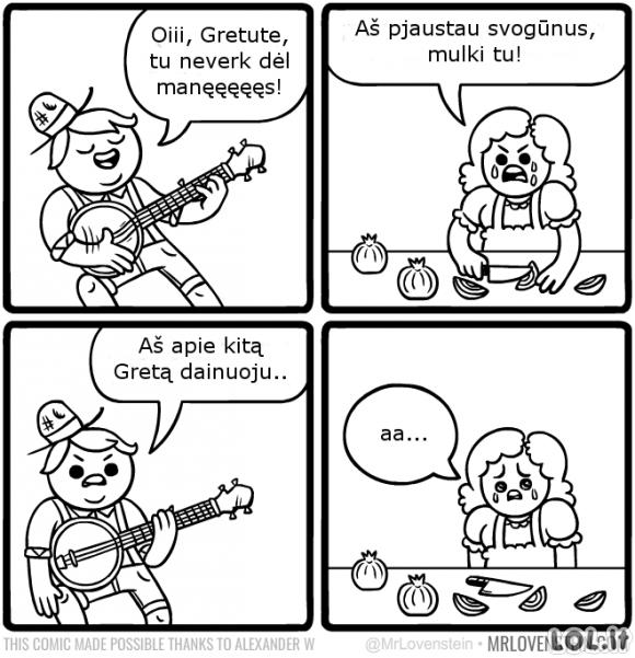 Liūdna daina