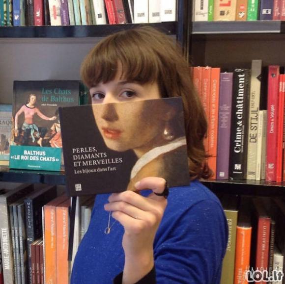 Kaip linksminasi knygynų darbuotojai