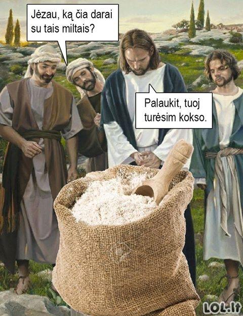 Tikrasis Jėzaus stebuklas