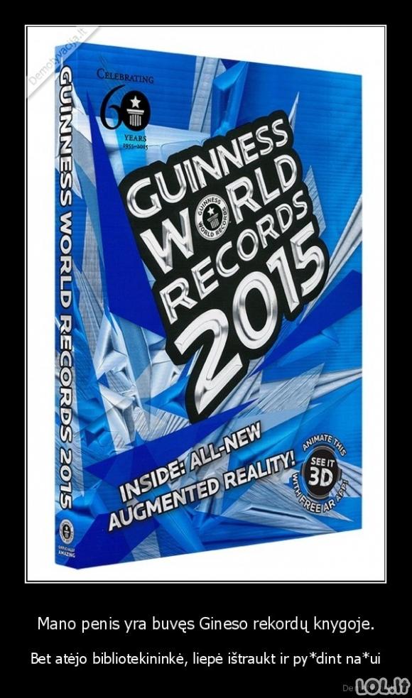 Gineso rekordininkas