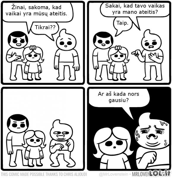 Vaikai - ateitis
