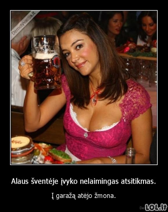 Sugadinta alaus šventė