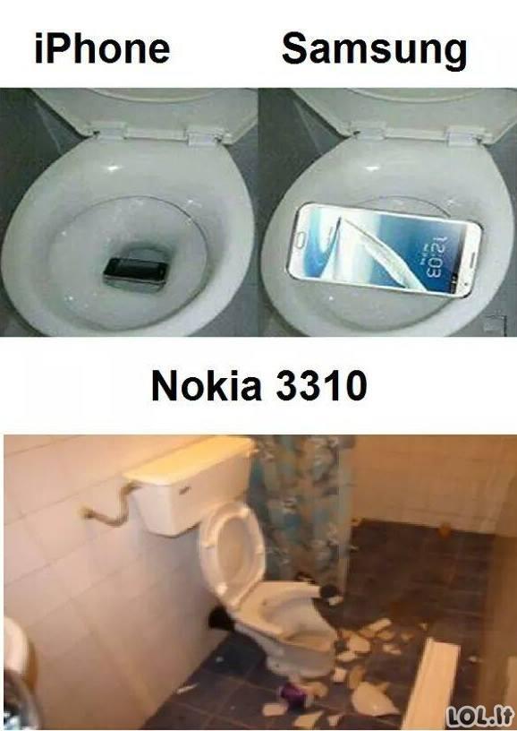Visa tiesa apie telefonus