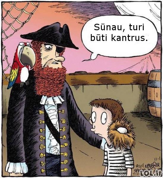 Nekantrus piratas