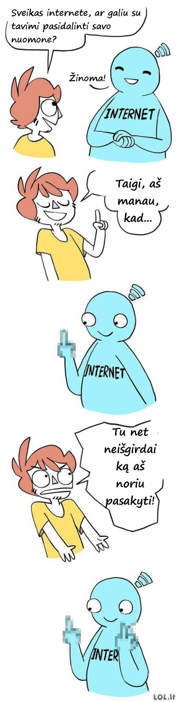 Kaip veikia internetas?