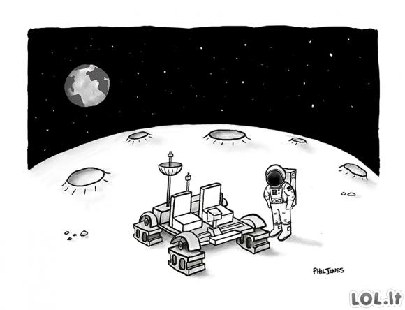Vagystė mėnulyje