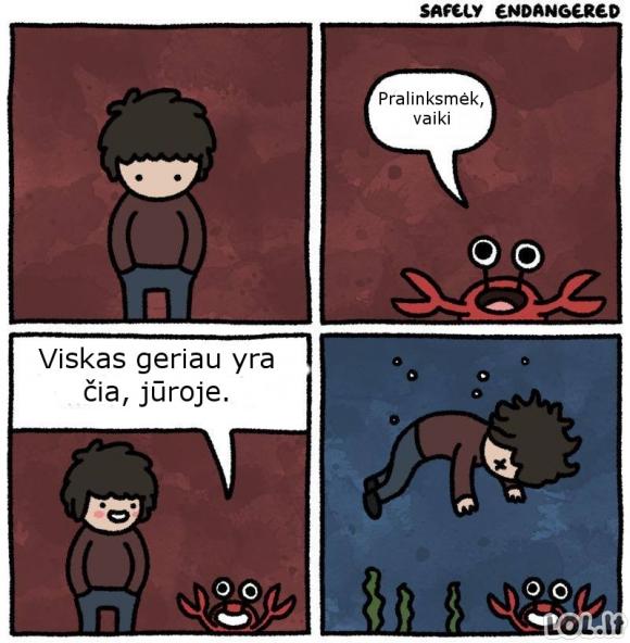 Nesuprastas krabas