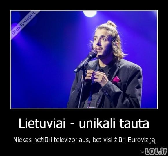 Lietuviai - Eurovizinė tauta