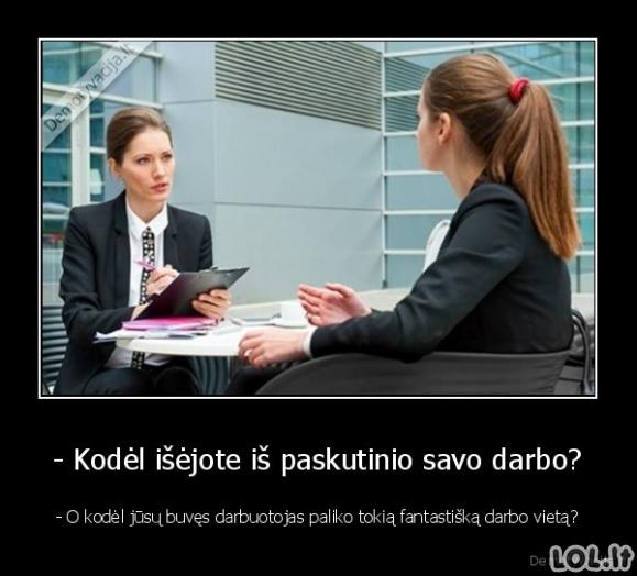 Visų darbdavių klausimas