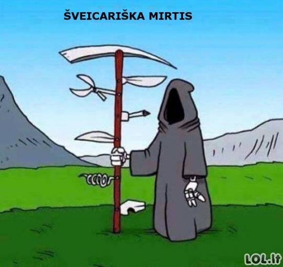 Šveicariška mirtis