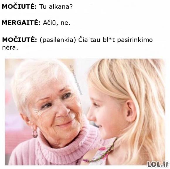 Močiutiška močiutė