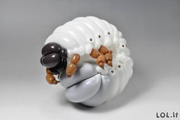 Nustebinęs balionų menas [GALERIJA]
