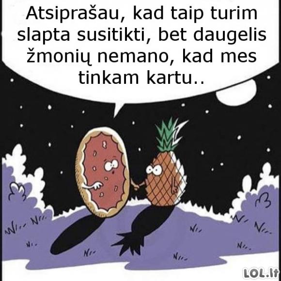 Ananasinė pica