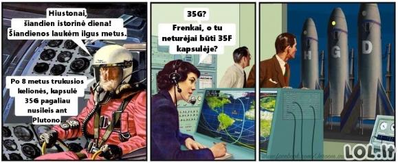 Kosmonautas nevykėlis
