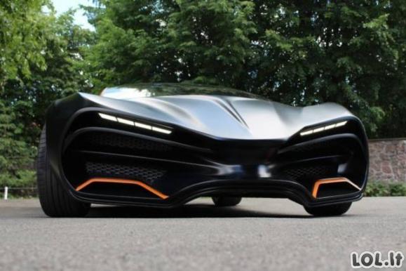 Pirmasis ukrainietiškas superautomobilis
