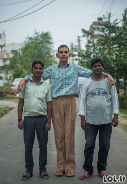 Aukščiausias pacanas Indijoje