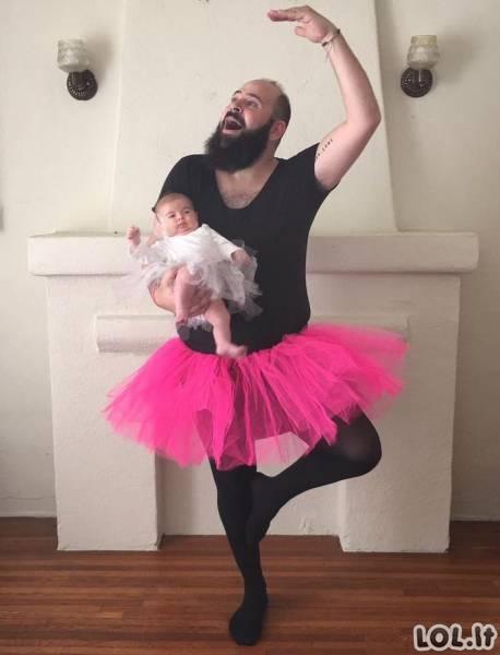 Mažoji interneto žvaigždė ir jos tėtis