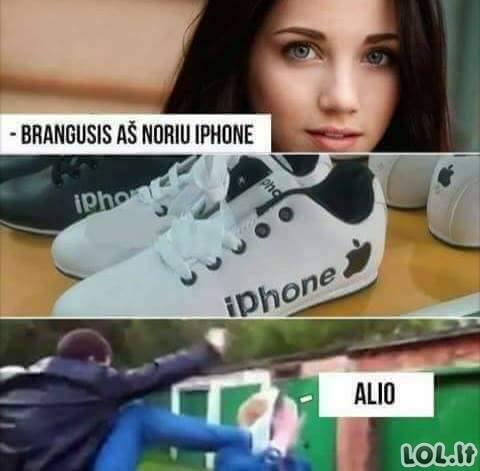 Naujas iPhone