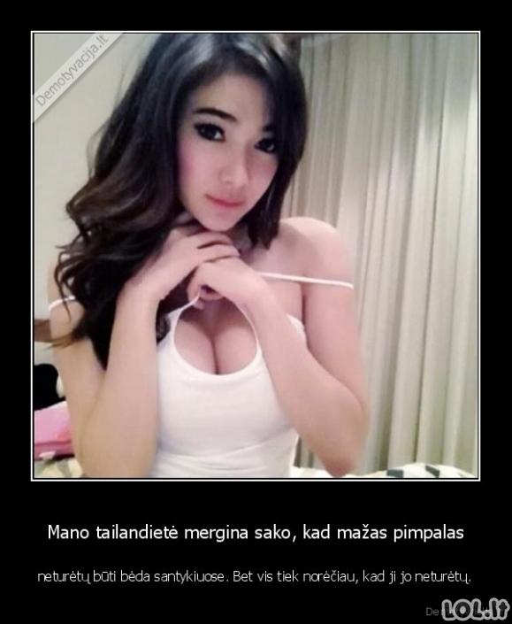 Mergina iš Tailando