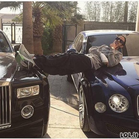 Arabai žino kaip reikia leisti pinigus