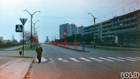 Kaip pasikeitė Pripetė po Černobilio avarijos