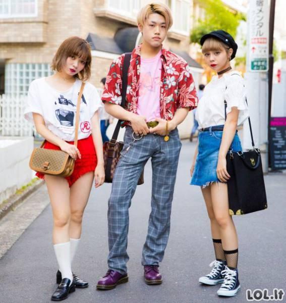 Japonijos gatvių mada