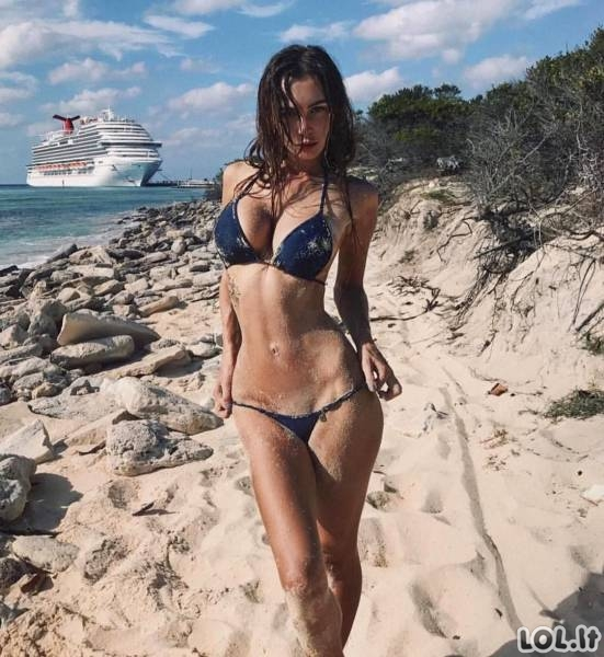 Karštos bikini merginos