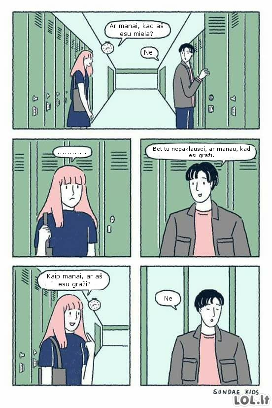 Smalsi mergina