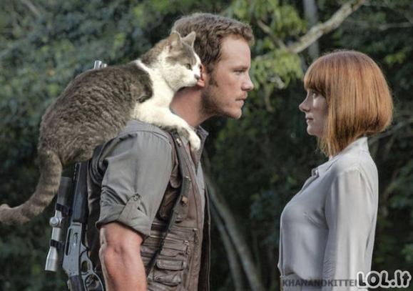 """Jei """"Jūros periodo parke"""" dinozaurus pakeistų katiniukai"""