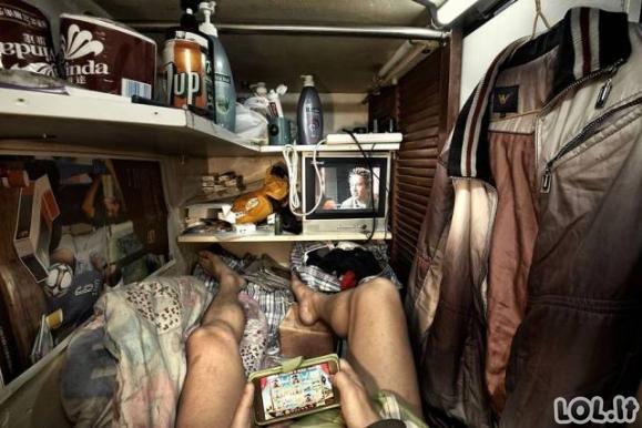 Gyvenimas Honkongo kubuose