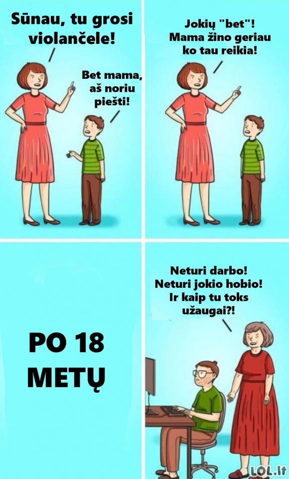 Kodėl vaikai neturi pomėgių?