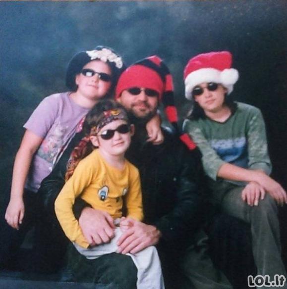 Keisčiausios šeimyninės nuotraukos