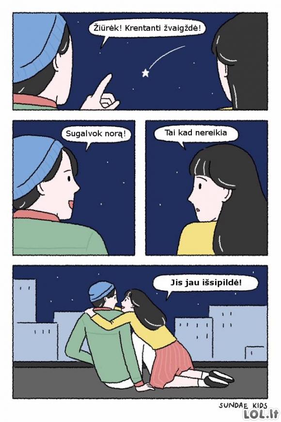 Krentanti žvaigždė