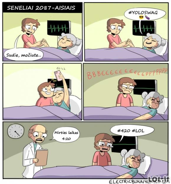 Ateities senelių išėjimas