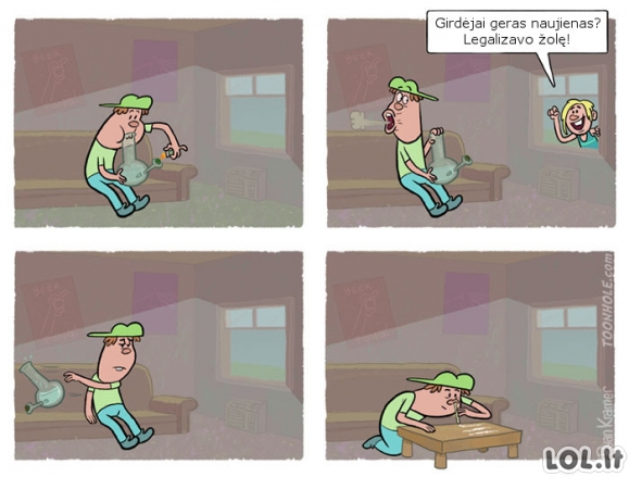 Žolės legalizavimas