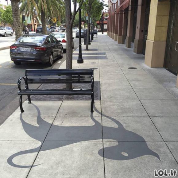 Apgaulingi šešėliai