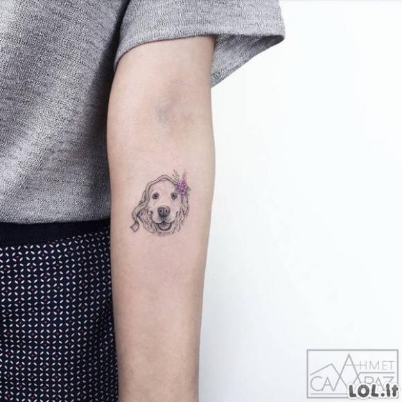 Minimalistinės, bet itin gerai atrodančios tatuiruotės