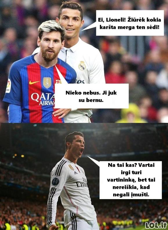 Ronaldo patarimas