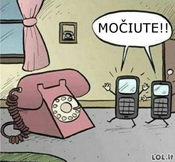 Senovinis telefonas