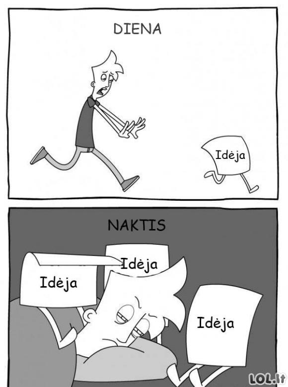 Idėjų skirtumai