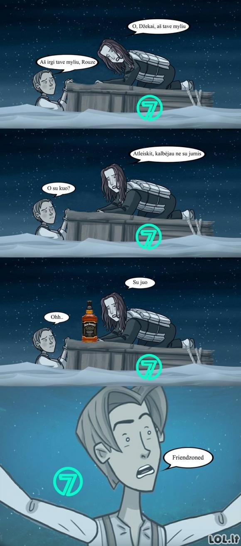 Kaip turėjo baigtis Titanikas