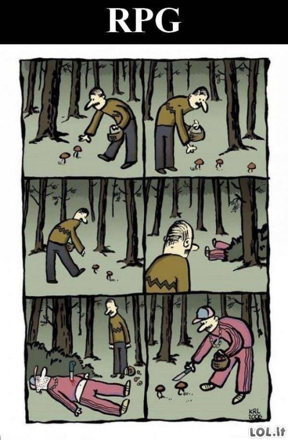 RPG žaidimų logika
