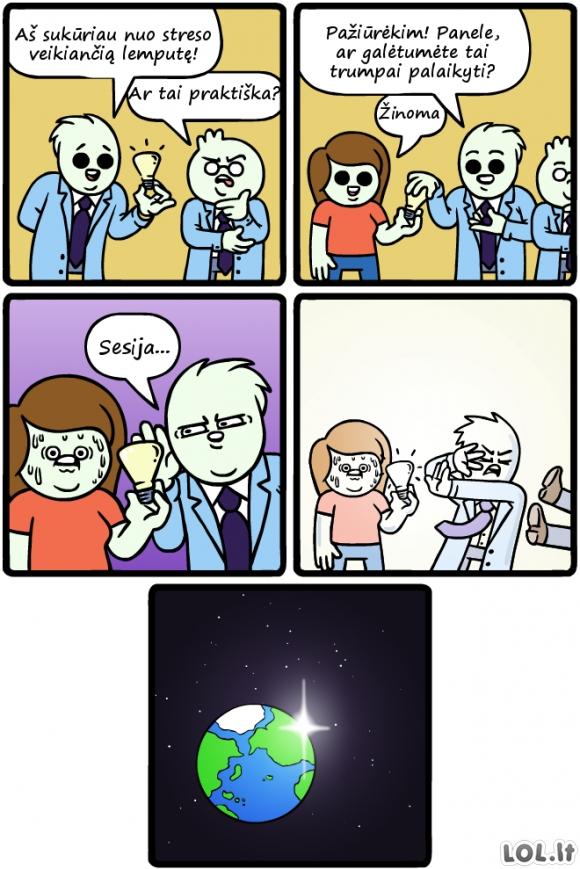 Galingiausia lemputė pasaulyje