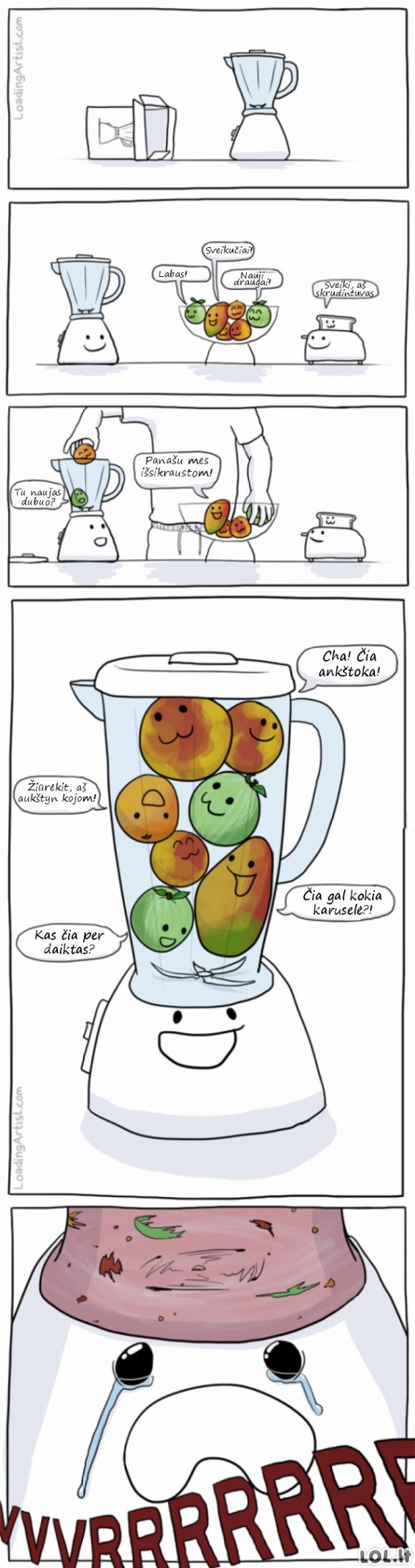 Naujieji vaisių namai